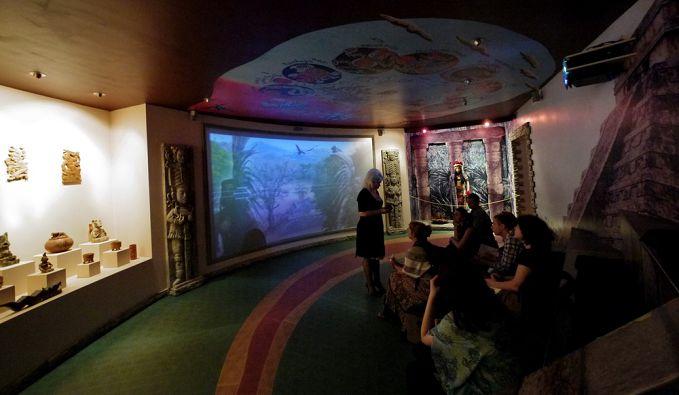 Кинотеатр в музее шоколада