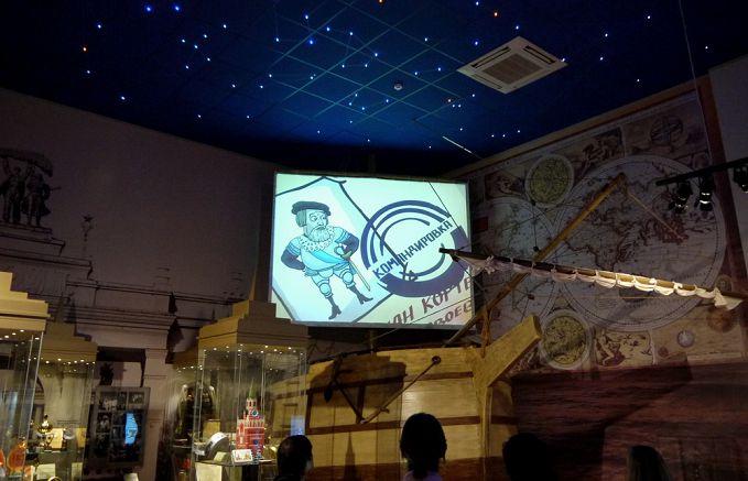 Мультфильмы в музее шоколада