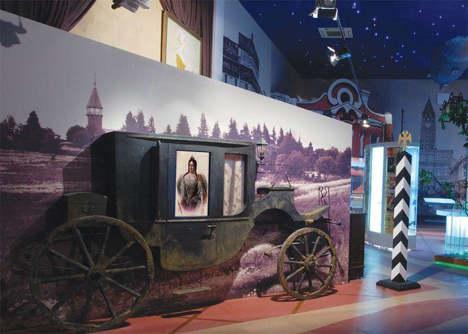 Экспозиция в музее шоколада и какао