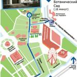 Карта музея анимации