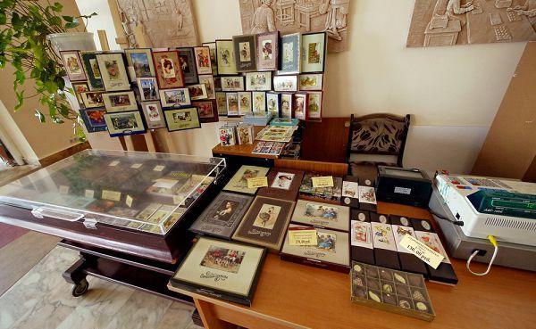 Киоск в музее истории шоколада и какао