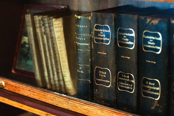 Книги в музее Цветаевой