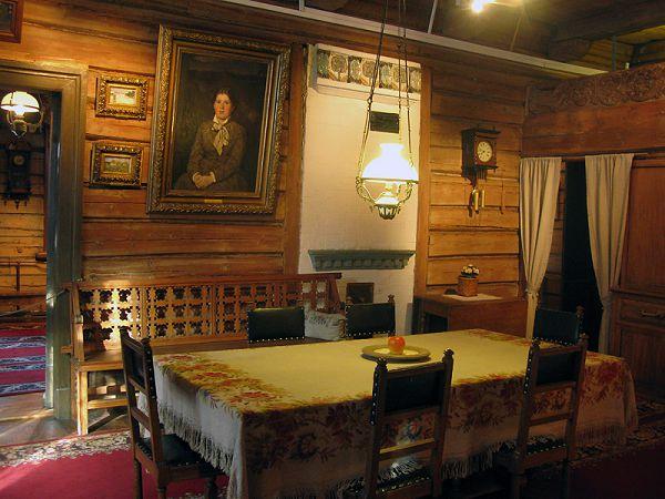 Столовая в музее Васнецова