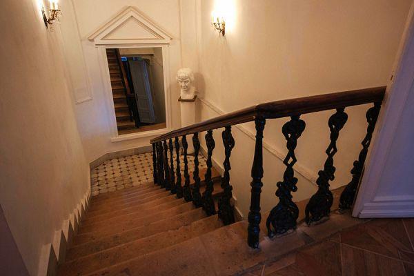 Лестница в музее Цветаевой