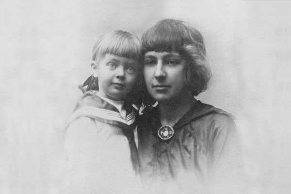 Мария Цветаева и дочь Арианда