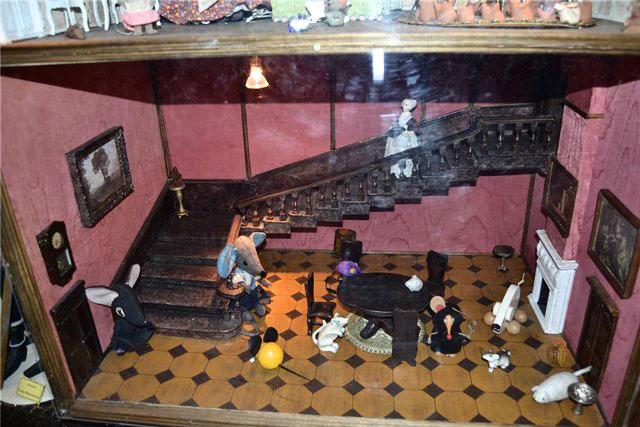 Квартира кукол в кукольном музее