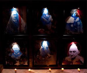 Портреты палачей в музее телесных наказаний