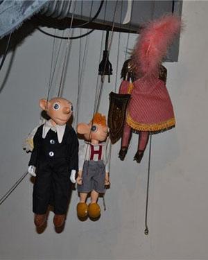 Кукльный театр в музее кукол