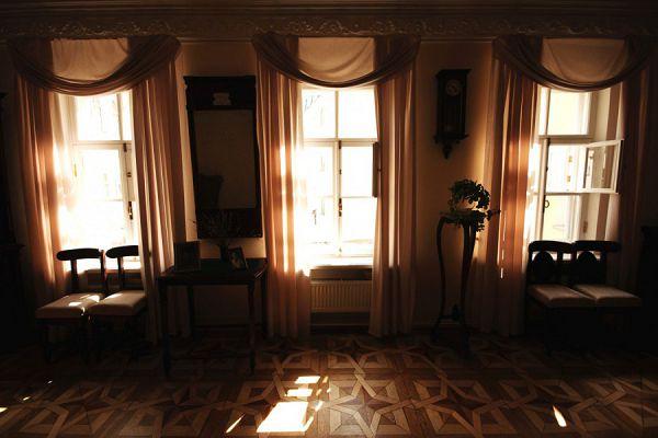 Три окна в музее Цветаевой