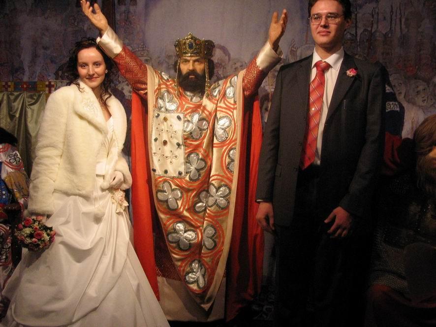 Владимир Великий в музее восковых фигур Москва