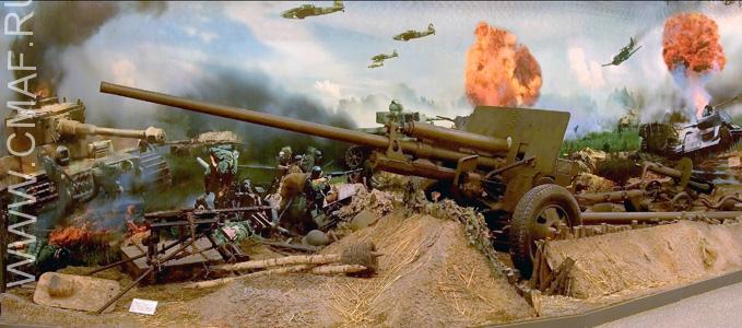Зал танкового сражения