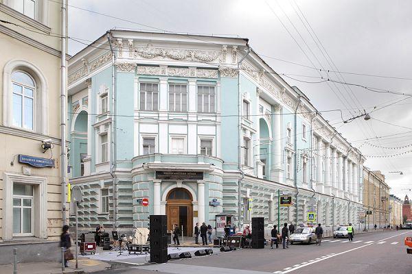здание зоологического музея МГУ