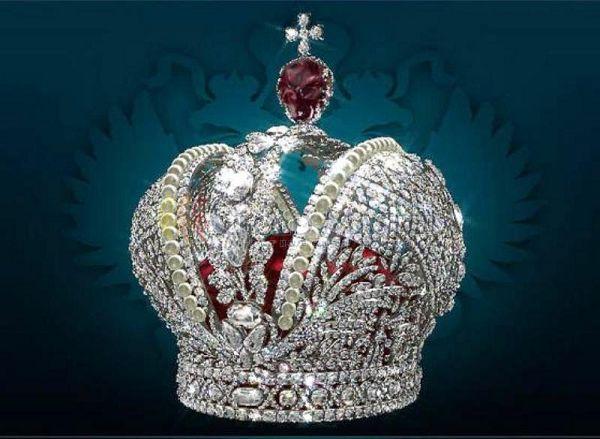 императорская корона - алмазный фонд