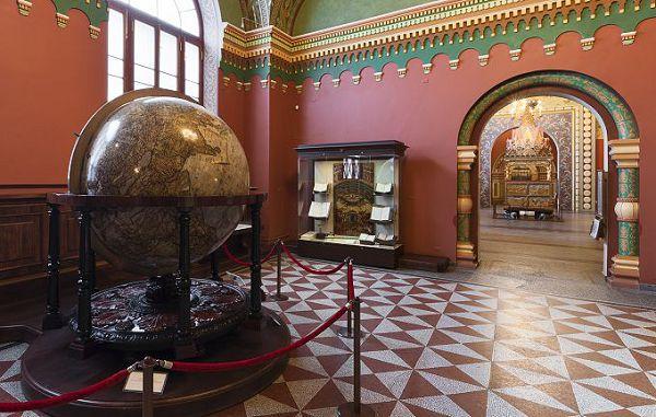 Глобус в историческом музее