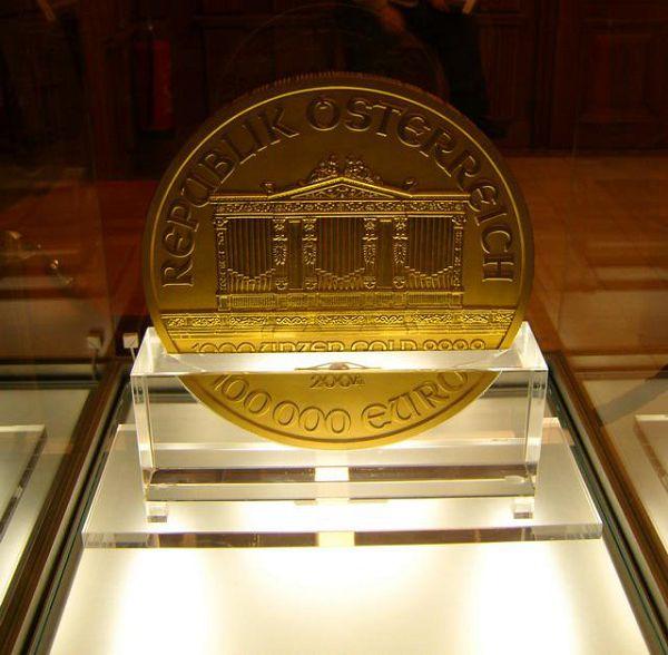 Монета в музее денег