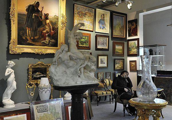 Выставка Антиквариатов в ЦДХ