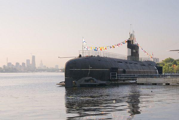 Музей подводной лодки Б-393 в Москве