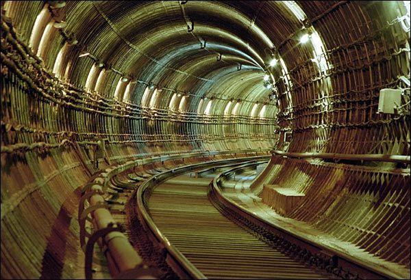Туннель в Московского метрополитена