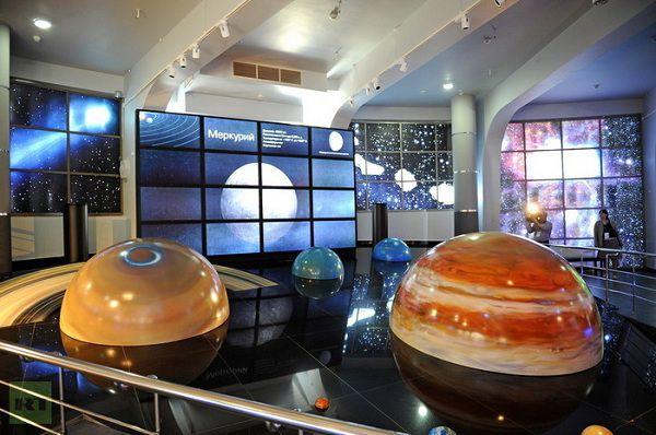 Планеты в московском планетарии