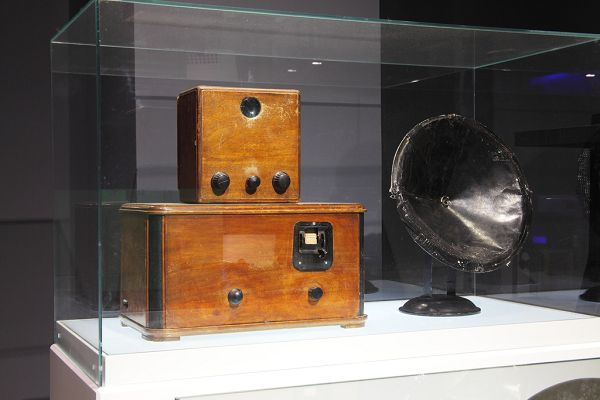 """Экспозиция """"Радио"""" в политехническом музее"""