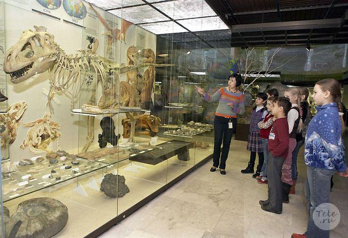 Экскурсии в Дарвиновском музее