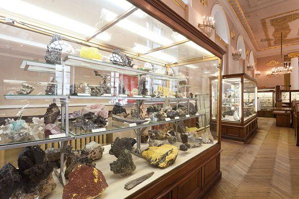 Выставка в минералогическом музее им Ферсмана