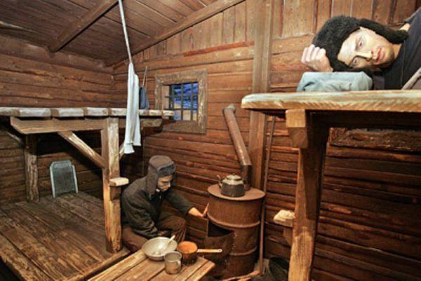 Предметы быта заключенных в музее ГУЛАГа