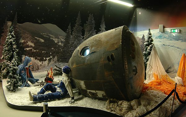 Отличная экспозиция в музее космонавтики на вднх