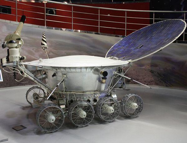 Луноход в музее космонавтики на вднх