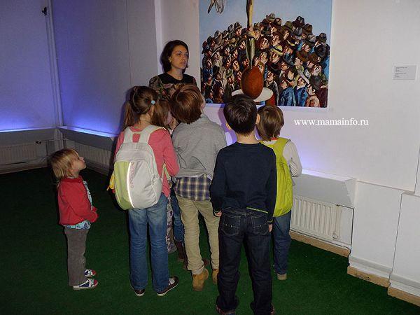 Экскурсии в музее современного искусства