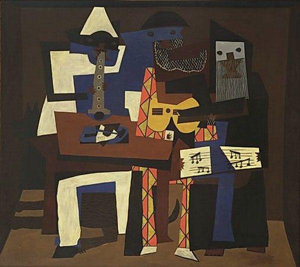 Работа Пикассо в музее современного искусства