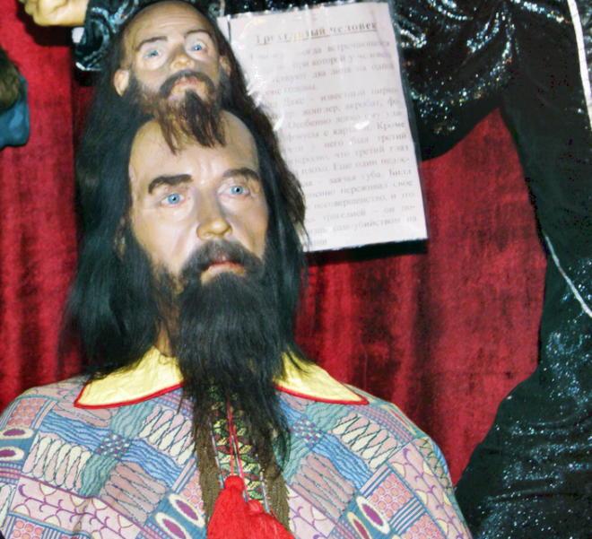 Фигура аномалия в музее восковых фигур