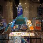 Витрина космоса в музее шоколада