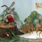 зайчик в музее анимации