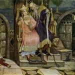 """Картина """"Кощей Бессмертный"""" в музее Васнецова"""