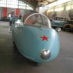 Амфибия-капсула в музее ретро-автомобилей