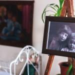 Фотография детей Цветаевой в музее Цветаевой