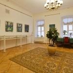 Большая комната в музее Цветаевой