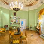 Малая гостинная в музее Пушкина