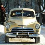 """Автомобиль """"Победа"""" в музее ретро-автомобилей"""