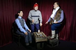 Самогонщики в музее восковых фигур в Москве