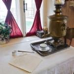 Самовар в музее Есенина