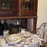 Сервиз в музее Есенина