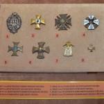 Второй зал русской Армии и флота. Значки