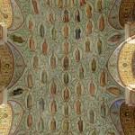 Лики святых на потолке в историческом музее
