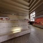 Каменные сооружения в историческом музее