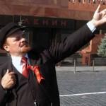 """Ленин"" возле мавзолея Ленина"