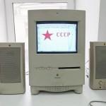 Очень старый комп в музее техники apple