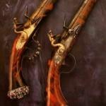 Два пистолета в оружейной палате