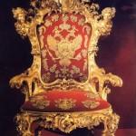 Кресло государя в оружейной палате